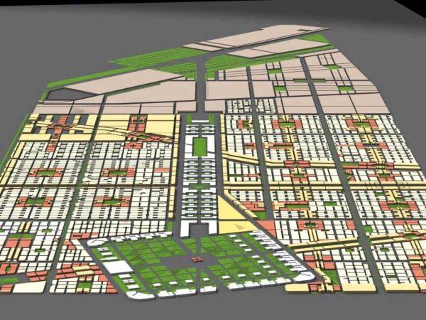 طرح جامع شهر بهارستان