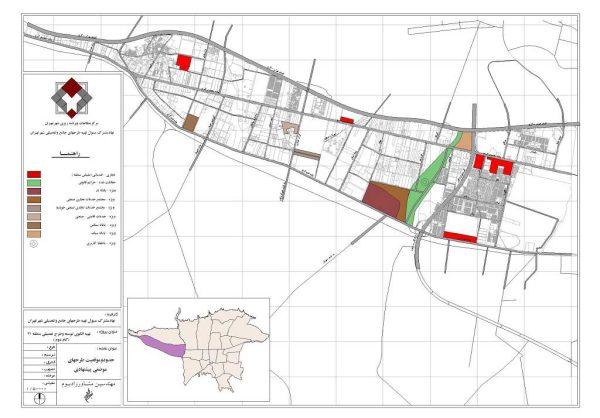 طرح های موضعی منطقه 21 تهران