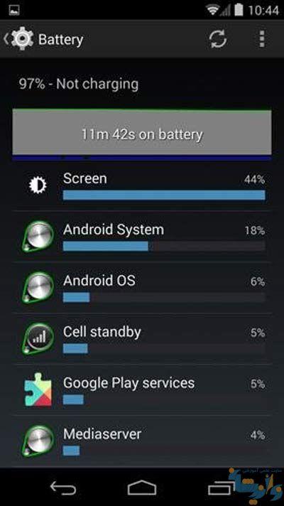 افزایش عمر مفید باتری گوشی
