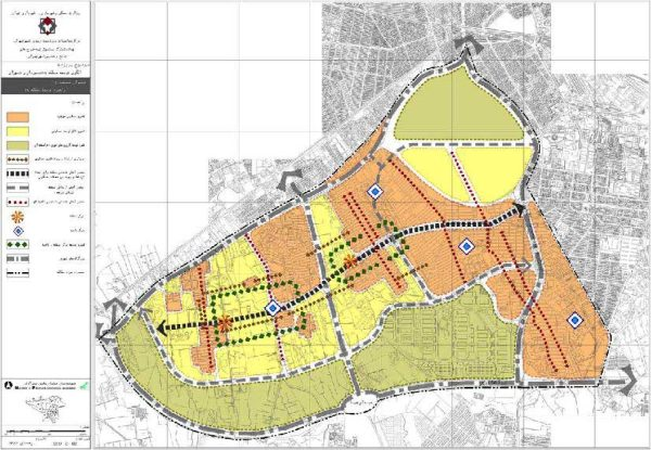 الگوی توسعه منطقه 19