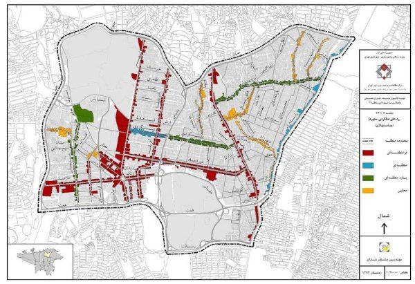 الگوی توسعه منطقه 3