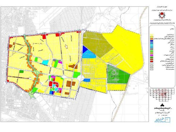 کاربری اراضی پیشنهادی منطقه ۱۴