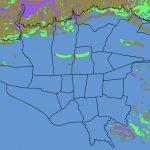 نقشه GIS خطر زمین لغزش شهر تهران و حومه