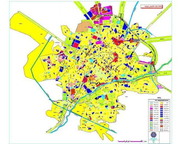 نقشه اتوکد ارومیه