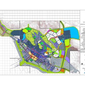 نقشه کد شهرکرد نهایی