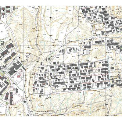 نقشه کد شهر سنندج