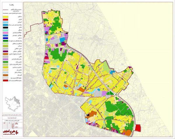 کاربری اراضی منطقه دو ارومیه