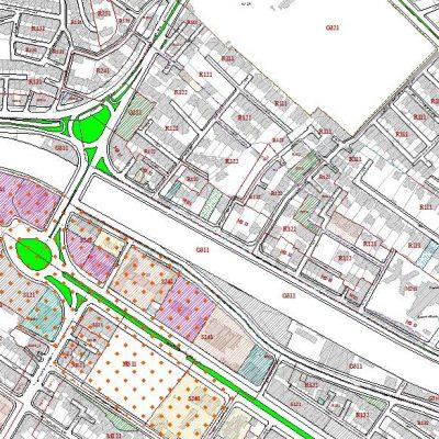 نقشه GIS منطقه ۱ شیراز