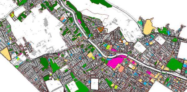 GIS منطقه یک شیراز