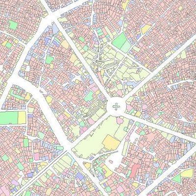 نقشه GIS ارومیه