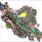 نقشه GIS ایران به صورت کامل