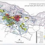 طرح مجموعه شهری تهران و شهرهای اطراف آن به صورت کامل