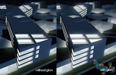 آموزش بازتاب نور در فتوشاپ