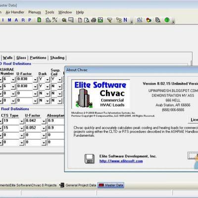 آموزش نرم افزار CHVAC