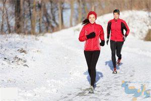 ورزش کردن در سرما