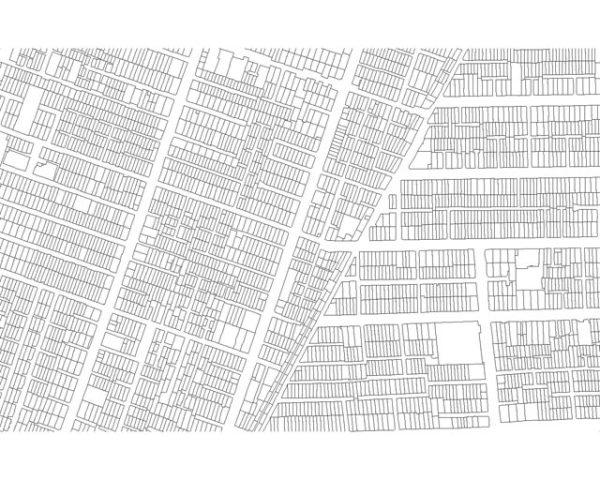 نقشه کد قطعه بندی تهران