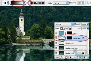 آموزش رفلکس تصویر در فتوشاپ
