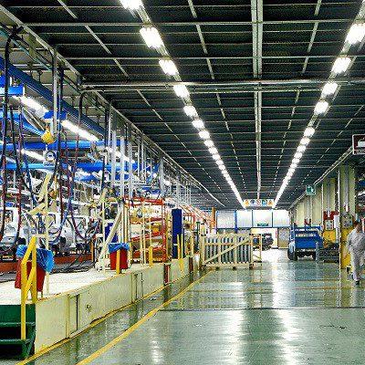 طراحی و پیاده سازی تأسیسات روشنایی کارخانه