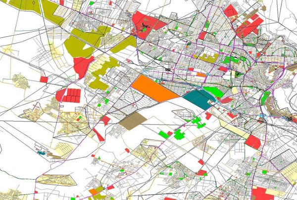 نقشه جدید شبکه معابر کرج