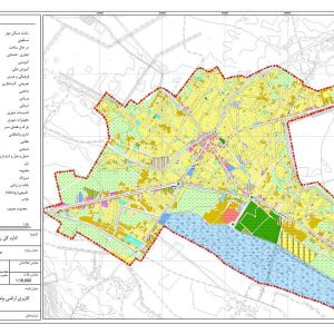 نقشه GIS لنگرود