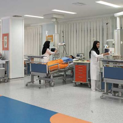 راهنمای طراحی بخش بستری داخلی و جراحی