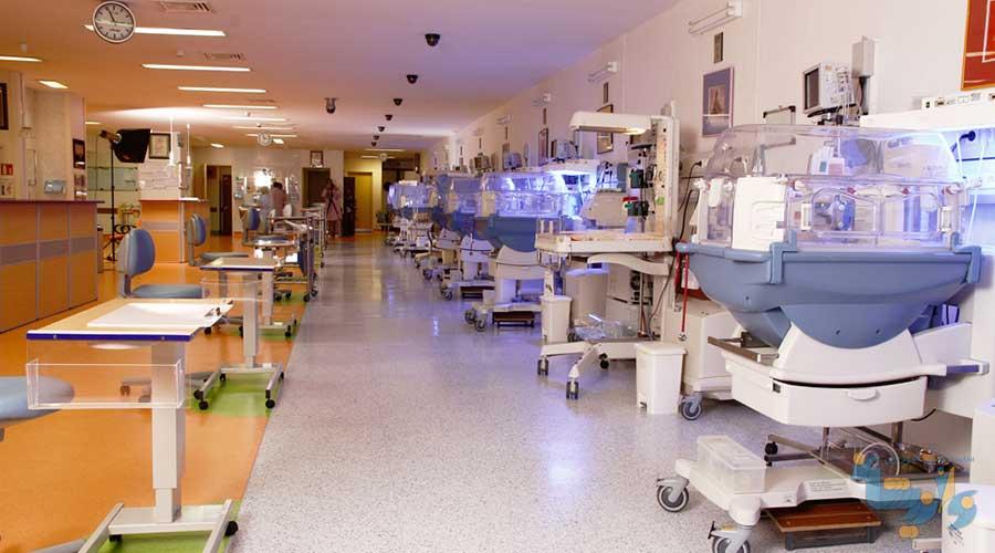 راهنمای طراحی بخش مراقبت ویژه نوزادان NICU