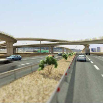 پروژه پلهای تقاطع بزرگراه شهید باکری