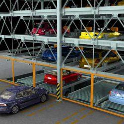 استانداردهای پارکینگ های مکانیزه