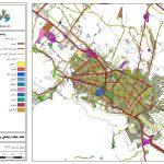 نقشه GIS مشهد – جدیدترین شیپ فایل معابر و کاربری اراضی مشهد