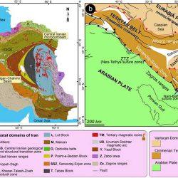 جزوه زمین شناسی ایران