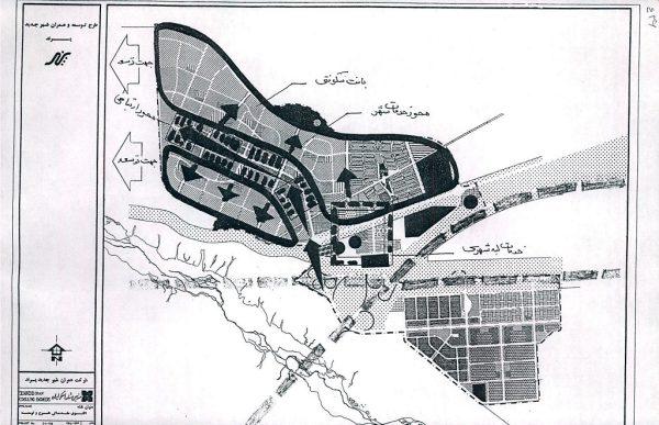 الگوی توسعه شهر جدید پرند