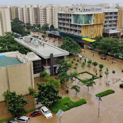 بررسی مسیلها و اقدامات جلوگیری از خسارت سیلاب