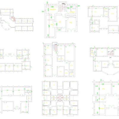 پلان معماری مدرسه