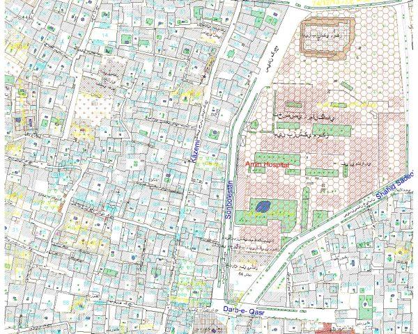 نقشه کد اصفهان