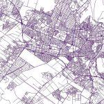 نقشه GIS کرج – شیپ فایل کرج با آخرین تغییرات در سال ۱۳۹۷