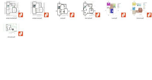 نقشه کد پلان ویلا