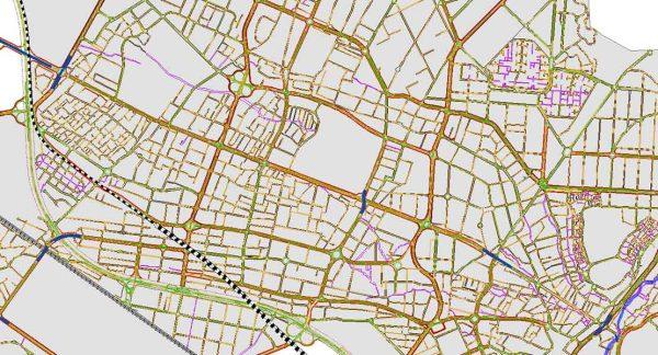 GIS طرح تفصیلی کرج