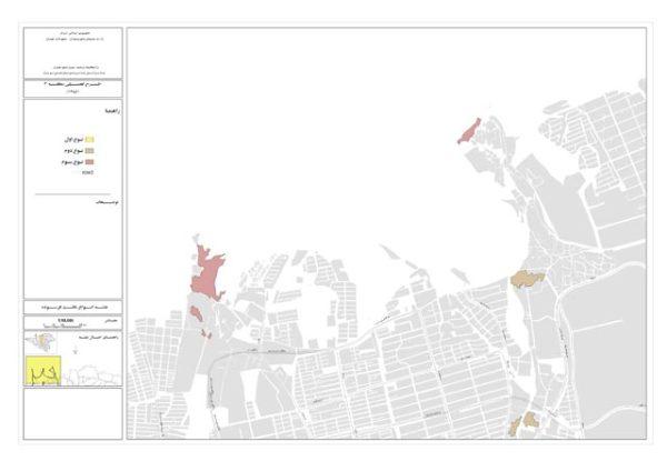 نقشه انواع بافت فرسوده منطقه 2