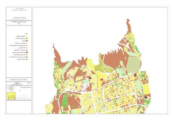 نقشه کاربری اراضی منطقه 2