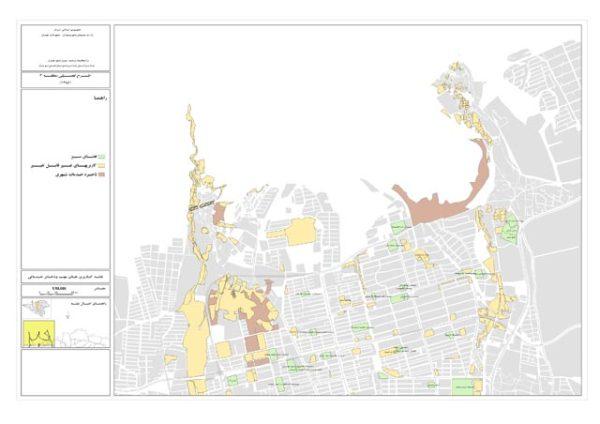 نقشه مراکز خدماتی منطقه 2