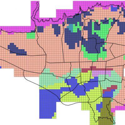نقشه GIS خاکشناسی تهران