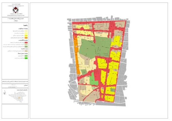 GIS پهنه بندی منطقه 11