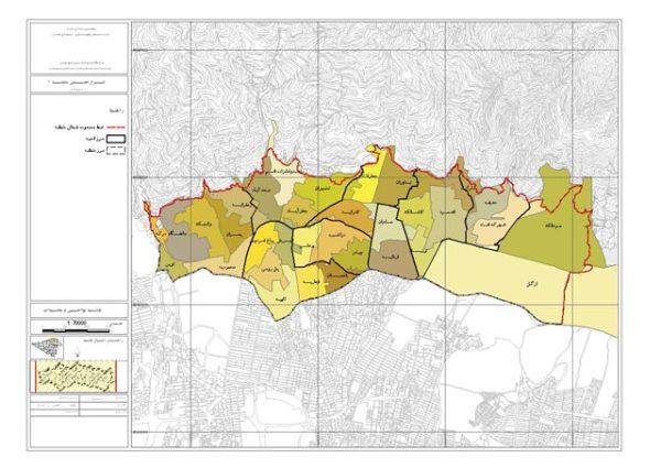 GIS محلات منطقه 1