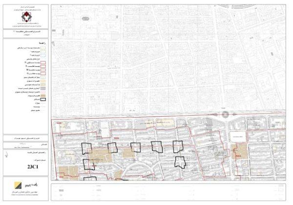 GIS طرح تفصیلی منطقه 11