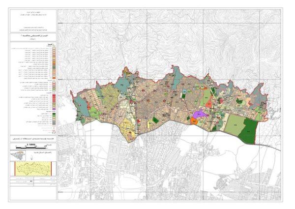 نقشه پهنه بندی منطقه 1