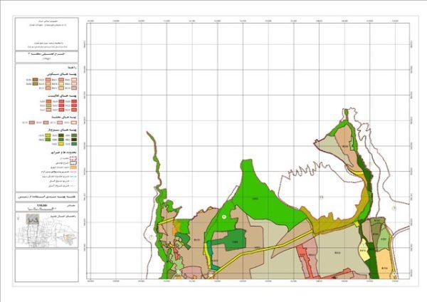 نقشه پهنه بندی منطقه 2