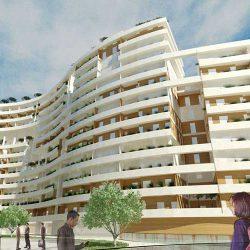پروژه مطالعات معماری مجتمع مسکونی