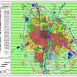 نقشه اتوکد آمل (طرح تفصیلی) و GIS شهر آمل سال 1399