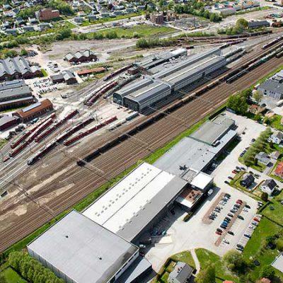 راهنمای طراحی پارکینگ قطار شهری