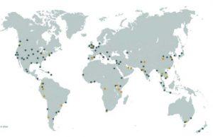 شهرهای تابآور جهان